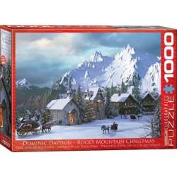 Puzzle Vánoce na horách