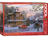 Puzzle Vánoční cesta domů