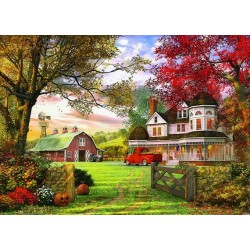 Puzzle Stará farma