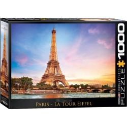 Puzzle Paříž - Eiffelova věž