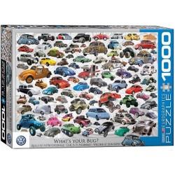 Puzzle Volkswagen - koláž