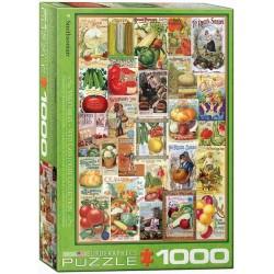 Puzzle Katalog semen zeleniny