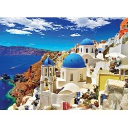 Puzzle Santorini