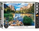 Puzzle Národní park Yosemite, USA