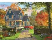 Puzzle Modrý dům