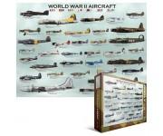 Puzzle Letadla 2. sv. války