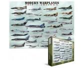 Puzzle Moderní bojová letadla