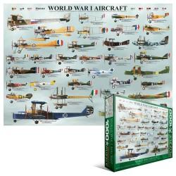 Puzzle Letadla 1. sv. války