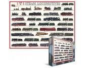 Puzzle Parní lokomotivy