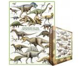 Puzzle Dinosauři - období křídy