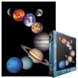 Puzzle NASA - Sluneční soustava