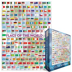 Puzzle Státní vlajky