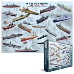 Puzzle Válečné lodě