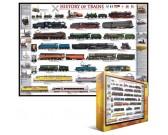 Puzzle Historie železnice