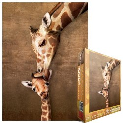 Puzzle Žirafa s mládětem