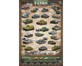 Puzzle Historie tanků