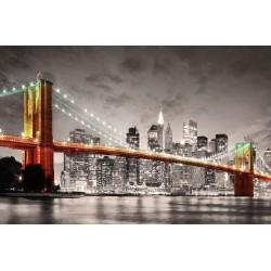 Puzzle Brooklynský most, New York