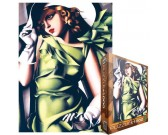Puzzle Dívka v zeleném