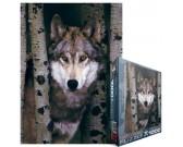 Puzzle Šedý vlk