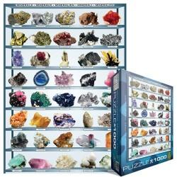 Puzzle Minerály
