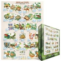 Puzzle Žáby