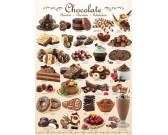 Puzzle Čokoládové pochutiny