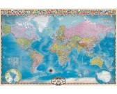 Puzzle Mapa světa s póly