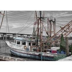 Puzzle Stará rybářská loď