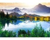 Puzzle Jezero v horách