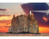 Puzzle Maják na ostrově Stromboli
