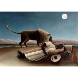 Puzzle Spící hudebník