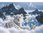 Puzzle Postel v oblacích