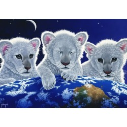 Puzzle Tři lvíčci