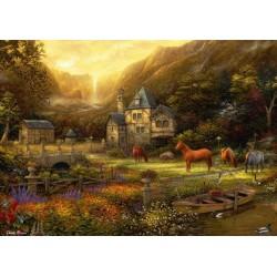 Puzzle Zlaté údolí