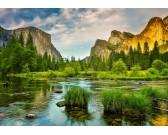 Puzzle Národní park Yosemite