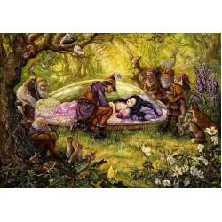 Puzzle Sněhurka s princem