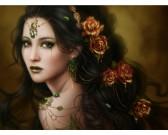 Puzzle Zlatá růže