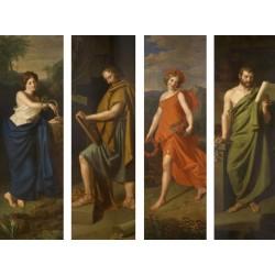 Puzzle Čtyři postavy