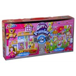 Puzzle Dívčí puzzle - DĚTSKÉ PUZZLE