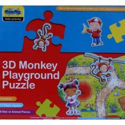 Puzzle Opičí hřiště - 3D PUZZLE