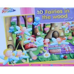 Puzzle Víly v lese - 3D PUZZLE