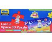 Puzzle Ztraceni ve vesmíru - 3D PUZZLE