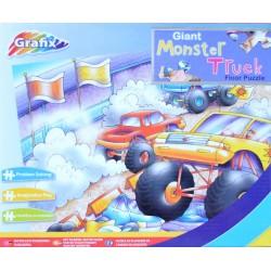 Puzzle Monster Truck - PODLAHOVÉ PUZZLE