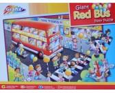 Puzzle Červený autobus - PODLAHOVÉ PUZZLE