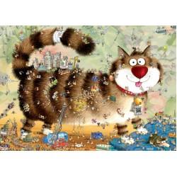 Puzzle Kočičí život - TRIANGULAR PUZZLE