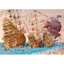 Puzzle Korzár - TRIANGULAR PUZZLE
