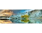 Puzzle Modré jezero - PANORAMATICKÉ PUZZLE