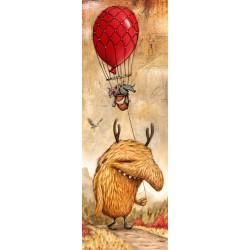 Puzzle Červený balón - VERTIKÁLNÍ PUZZLE
