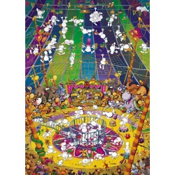 Puzzle Divný cirkus