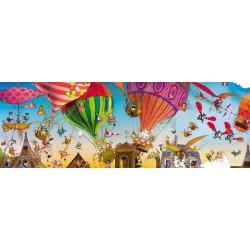 Puzzle Balóny - PANORAMATICKÉ PUZZLE